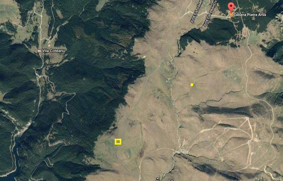 Vanzare teren intravilan, zona Piatra Arsa, Muntii Bucegi