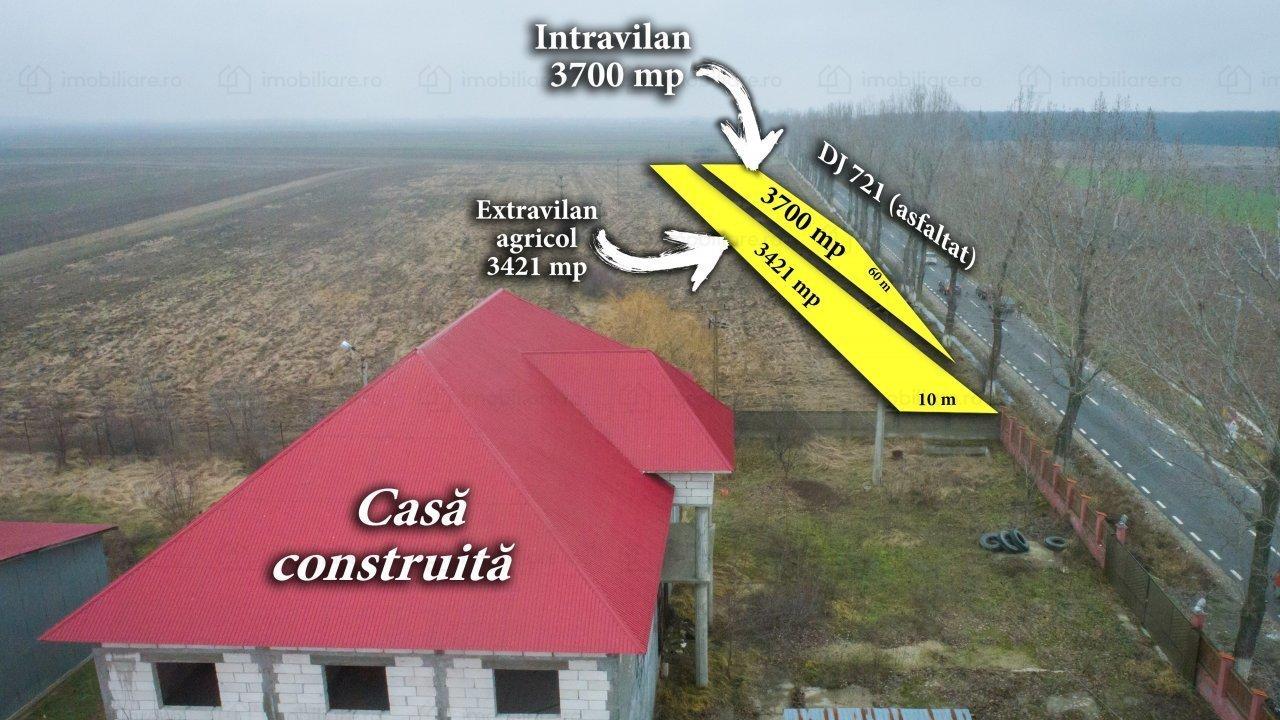 Comision zero! Vanzare teren in Costestii din Deal, com. Produlesti Dambovita